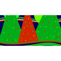 Magical Xmas night YOU ARE INVITED 3D Greeting Card (8x4)