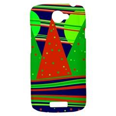Magical Xmas night HTC One S Hardshell Case