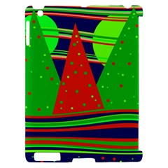 Magical Xmas night Apple iPad 2 Hardshell Case (Compatible with Smart Cover)