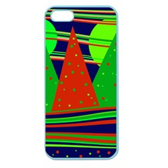 Magical Xmas night Apple Seamless iPhone 5 Case (Color)