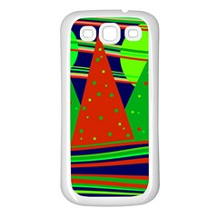 Magical Xmas night Samsung Galaxy S3 Back Case (White)
