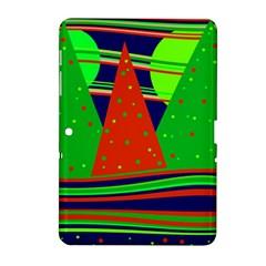 Magical Xmas night Samsung Galaxy Tab 2 (10.1 ) P5100 Hardshell Case