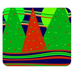 Magical Xmas night Double Sided Flano Blanket (Small)