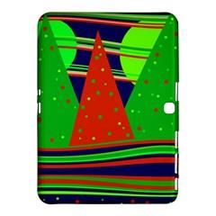 Magical Xmas night Samsung Galaxy Tab 4 (10.1 ) Hardshell Case