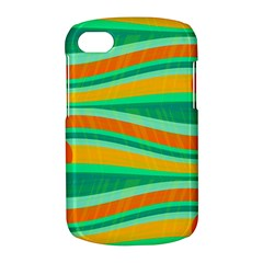 Green and orange decorative design BlackBerry Q10