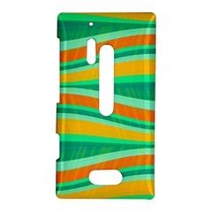 Green and orange decorative design Nokia Lumia 928