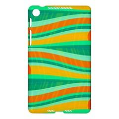 Green and orange decorative design Nexus 7 (2013)