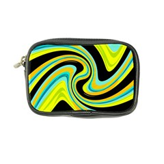 Blue and yellow Coin Purse