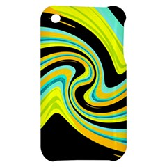 Blue and yellow Apple iPhone 3G/3GS Hardshell Case