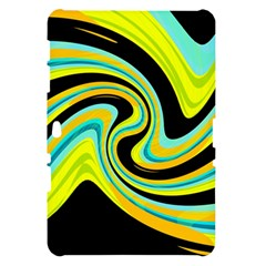 Blue and yellow Samsung Galaxy Tab 10.1  P7500 Hardshell Case