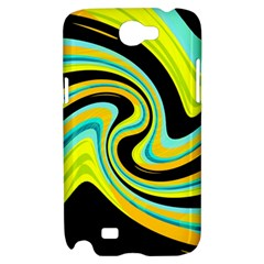Blue and yellow Samsung Galaxy Note 2 Hardshell Case