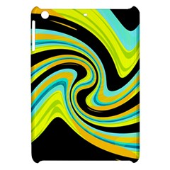 Blue and yellow Apple iPad Mini Hardshell Case