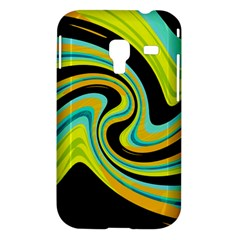 Blue and yellow Samsung Galaxy Ace Plus S7500 Hardshell Case