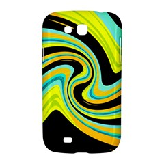 Blue and yellow Samsung Galaxy Grand GT-I9128 Hardshell Case