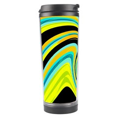 Blue and yellow Travel Tumbler