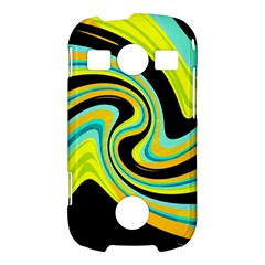 Blue and yellow Samsung Galaxy S7710 Xcover 2 Hardshell Case
