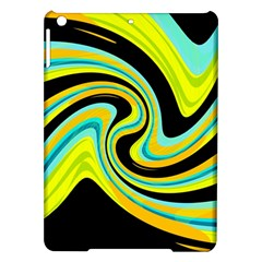 Blue and yellow iPad Air Hardshell Cases