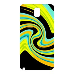 Blue and yellow Samsung Galaxy Note 3 N9005 Hardshell Back Case