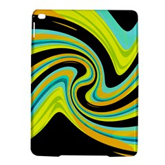 Blue and yellow iPad Air 2 Hardshell Cases