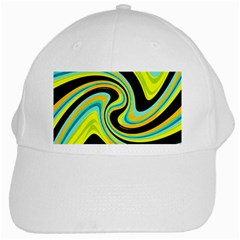 Blue and yellow White Cap