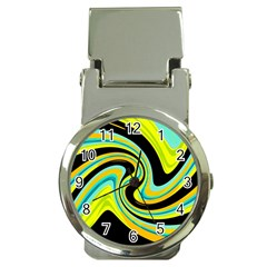 Blue And Yellow Money Clip Watches