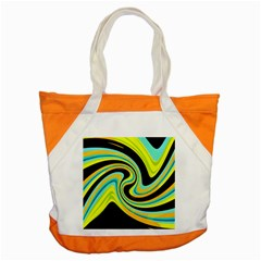 Blue and yellow Accent Tote Bag