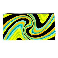 Blue and yellow Pencil Cases