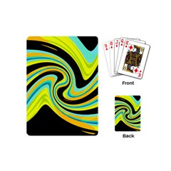 Blue and yellow Playing Cards (Mini)