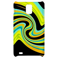 Blue and yellow Samsung Infuse 4G Hardshell Case