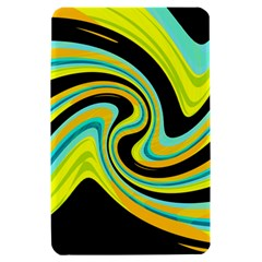 Blue and yellow Kindle Fire (1st Gen) Hardshell Case