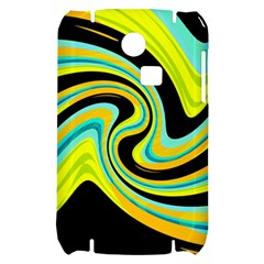 Blue and yellow Samsung S3350 Hardshell Case