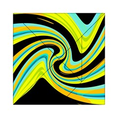 Blue and yellow Acrylic Tangram Puzzle (6  x 6 )