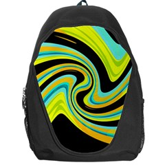 Blue and yellow Backpack Bag