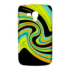 Blue and yellow Samsung Galaxy Duos I8262 Hardshell Case