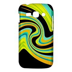 Blue and yellow Samsung Galaxy Ace 3 S7272 Hardshell Case