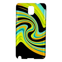 Blue and yellow Samsung Galaxy Note 3 N9005 Hardshell Case