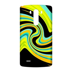 Blue and yellow LG G3 Back Case