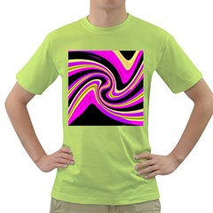 Pink and yellow Green T-Shirt