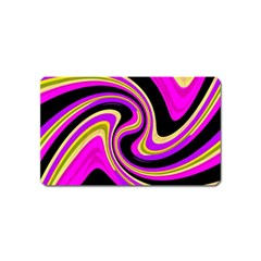 Pink and yellow Magnet (Name Card)