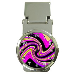 Pink and yellow Money Clip Watches