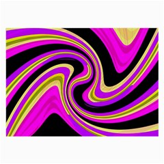 Pink and yellow Large Glasses Cloth (2-Side)