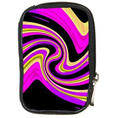 Pink and yellow Compact Camera Cases
