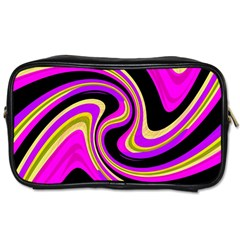 Pink and yellow Toiletries Bags