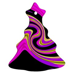 Pink and yellow Ornament (Christmas Tree)