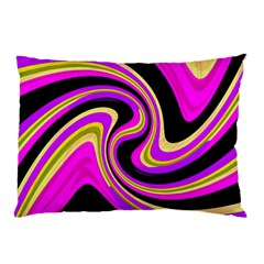 Pink and yellow Pillow Case (Two Sides)