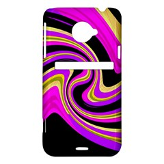 Pink and yellow HTC Evo 4G LTE Hardshell Case