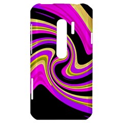Pink and yellow HTC Evo 3D Hardshell Case