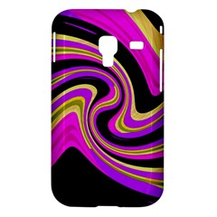 Pink and yellow Samsung Galaxy Ace Plus S7500 Hardshell Case