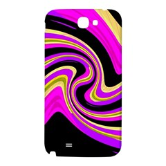 Pink and yellow Samsung Note 2 N7100 Hardshell Back Case