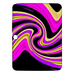 Pink and yellow Samsung Galaxy Tab 3 (10.1 ) P5200 Hardshell Case